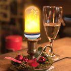 E27 LED Flickering Flame Effect Fire Light Bulbs Simulation Decorative Xmas Lamp