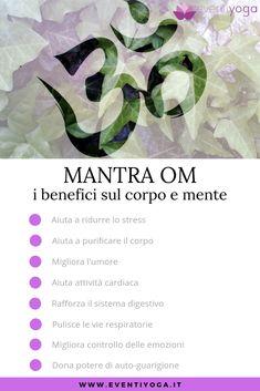 ✅ MANTRA OM: i benefici sul corpo e mente 👉 Scopri qui 👇 Phobias, Yoga Meditation, Asana, Yoga Fitness, Yoga Poses, Pilates, Fitness Inspiration, Detox, Stress