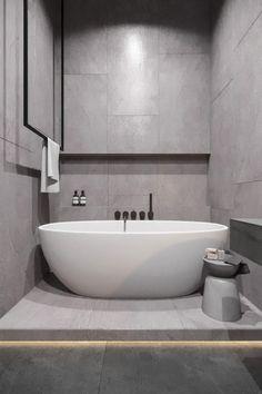 Bathroom Design - La Petite - Master Bathroom Design – La Petite -Master Bathroom Design - La Petite - Master Bathroom Design – La Petite - 38 incredible small bathroom remodel ideas you must try 26 Contemporary Bathrooms, Modern Bathroom, Small Bathroom, Master Bathroom, Remodled Bathrooms, Colorful Bathroom, Dyi Bathroom, Bathroom Trends, Industrial Living