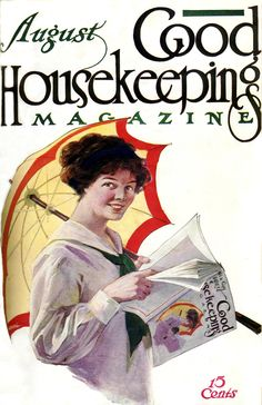 Good Housekeeping Magazine cover, August 1910
