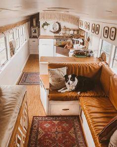 Small Tiny House, Tiny House Living, Tiny House Design, Tiny House On Wheels, School Bus Tiny House, School Bus Camper, Kombi Trailer, Camper Trailers, Rv Campers