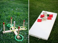 lawn games at your wedding- a MUST! (photo by Anna K Photography)