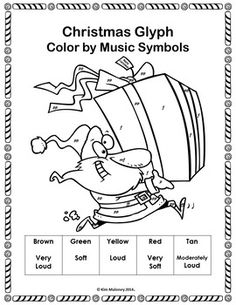 Music Coloring Pages: 26 Spring Color by Music Sheets
