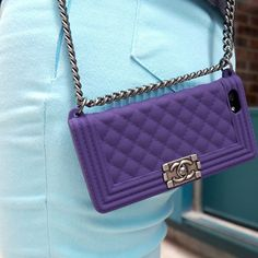 Chanel boy chain bag iphone 6 plus case cover