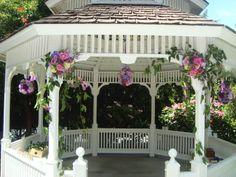 Gardeny gazebo Gazebo Decorations, Pergola, Outdoor Structures, Weddings, Outdoor Pergola, Wedding, Marriage