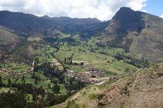 Landscape of the Pisac Ruins I, Sacred Valley.
