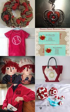 Stunning Reds by RENEE TOUSIGNANT on Etsy--Pinned with TreasuryPin.com