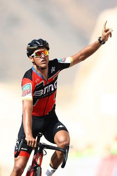 Tour of Oman 2018 / Stage 3 Arrival / Greg Van Avermaet of Belgium / Celebration / German University of Technology Wadi Dayqah Dam/ Oman Tour / ©. Uci World Tour, Cycling Sunglasses, Pro Cycling, Cycling Wear, Sports Celebrities, Bicycle Maintenance, Bicycle Race, Cool Bike Accessories, Racing Team