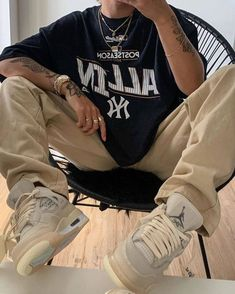 Indie Outfits, Retro Outfits, Cute Casual Outfits, Summer Outfits Men, Tomboy Outfits, Chill Outfits, Teen Fashion Outfits, Tomboy Fashion, Streetwear Fashion