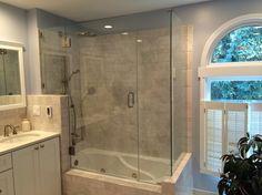 frameless tub enclosure - Google Search