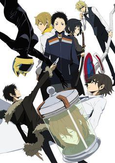 El Anime Durarara!!x2 Ketsu se estrenará el 9 de Enero del 2016.