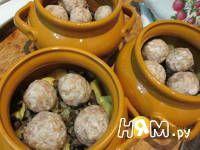 Приготовление рецепта Фрикадельки в горшочке: шаг 4