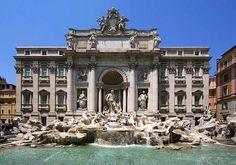 Fontana di Trevi, Roma, Italy, 1732 — 1762 | José Miguel Hernández Hernández
