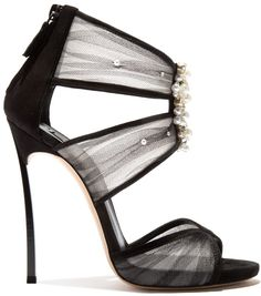 bd95c55e5ff The recognizable aesthetic of the classic Casadei sandal meets the modern  opulence of this unique embroidery
