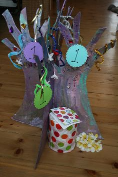 Birthday Tree....Alex would love to help momma make one of these!