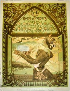 Vintage ad / art nouveau