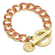 Coach chunky bracelet
