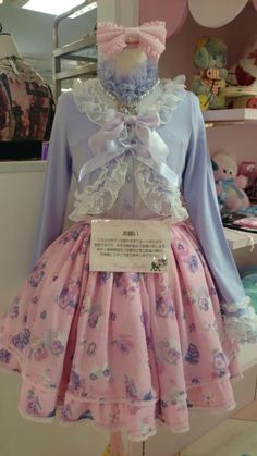 Dedicated to all Fairykei, Popkei, Decololita and like-minded fashion. You will find pastel colors,. Harajuku Fashion, Kawaii Fashion, Lolita Fashion, Pink Fashion, Cute Fashion, Fashion Outfits, Visual Kei, Mode Lolita, Lolita Cosplay
