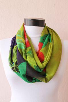 Write infinity scarf / chiffon scarf / mothers day gift