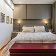 @2arquitetos Bedroom Closet Design, Home Room Design, Master Bedroom Design, Home Decor Bedroom, Fitted Bedroom Furniture, Fitted Bedrooms, Small Master Bedroom, Master Bedroom Makeover, Luxurious Bedrooms