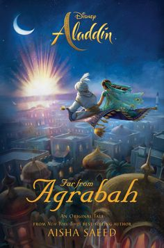 Aladdin: Far from Agrabah by Aisha Saeed. A magic carpet ride full of adventure, suspense, and wonder in an all-new story set in the world of the new film, featuring Aladdin and Jasmine. Aladdin Film, Aladdin Cast, Watch Aladdin, Aladdin Wallpaper, Disney Wallpaper, Live Action Film, Action Movies, Dc Movies, Disney Movies