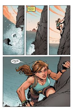 Preview: Lara Croft & the Frozen Omen #1.  Read more - http://archaeologyoftombraider.com/2015/09/20/preview-lara-croft-the-frozen-omen-1/