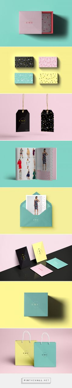 E M E Fashion Branding by Sofia Martinez Gallardo | Fivestar Branding Agency – Design and Branding Agency & Curated Inspiration Gallery
