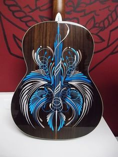 Musical instrument pinstriping - Google Search