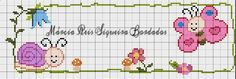Cross Stitch Borders, Cross Stitch Alphabet, Cross Stitch Baby, Cross Stitch Charts, Cross Stitching, Cross Stitch Embroidery, Cross Stitch Patterns, Graphic Patterns, Bead Crochet