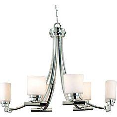 Bow 6-light Neckel Island Light  - For the dining room