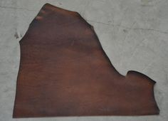 Dark Rust Chromexcel Leather Cowhide Project by TheLeatherGuyMN