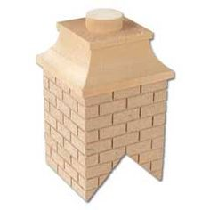 Unfinished Partially Bricked Chimney
