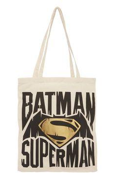 Batman V Superman Shopper Tote Bag