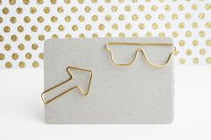 How To: Make Your Own DIY Custom-Shaped Paperclips!  http://www.thesweetestoccasion.com/2011/03/diy-paperclips/
