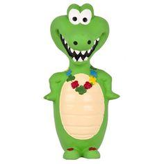Crocodilo de Latex Go Wild Duki - MeuAmigoPet.com.br #petshop #cachorro #cão #meuamigopet