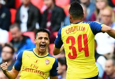 Arsenal 4-0 Aston Villa: Walcott & Alexis shine to hand Gunners record 12th FA Cup