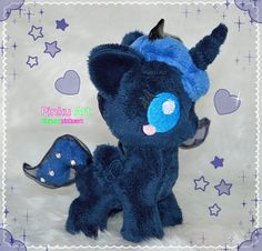 Baby Luna S2 plush | mlp | Made To Order