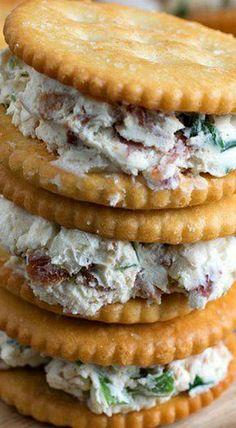 Cream Cheese, Scallion and Bacon RITZwich