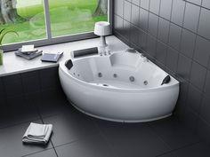 Poreamme Harma White Coral 1500 x 1500 x 610 mm valkoinen Angles, Finnish Sauna, Coraline, Corner Bathtub, Led, Bathroom, Bath, Furniture