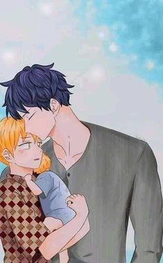 Manhwa, Anime Bl, Kawaii Anime, Cute Gay Couples, Anime Couples, Anime Pregnant, Bl Webtoon, Family Drawing, Cute Korean Boys