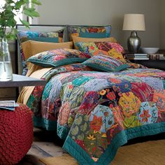 Would like to make a quilt like this. Honeycomb Quilt | The Company Store