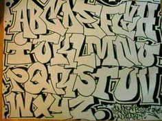 unique art graffiti alphabet letters