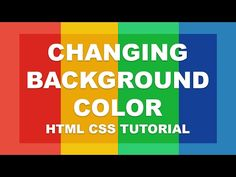 XHTML and CSS Tutorial - 18 - text-align and Changing Background Color Html Projects, Simple Html, Css Style, New Facebook Page, Html Css, Online Tutoring, The Time Is Now, Text Color, Colorful Backgrounds