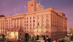 Fairmont San Francisco World renowned, Fairmont San Francisco presents an awe-inspiring picture of historic San Francisco.    The grandeur of the luxury hotel atop Nob Hill coupled with its reputation for impeccable... #Hotel  #Travel #Backpackers #Accommodation #Budget
