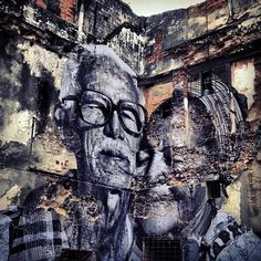 "Jose Parla x JR ""Wrinkles of the City"", Havana, Cuba"
