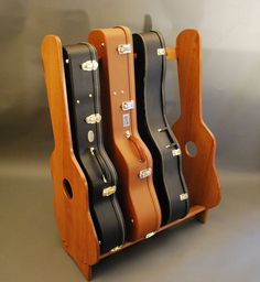 Guitar Rack It could also be modified for other instrument cases.