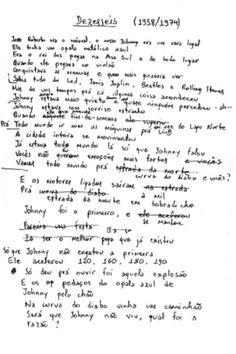 Veja manuscritos e fotos antigas do cantor e poeta Renato Russo