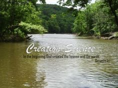 Creation Science resources - a wonderful list by Heidi at Habits for a Happy Home #homeschool
