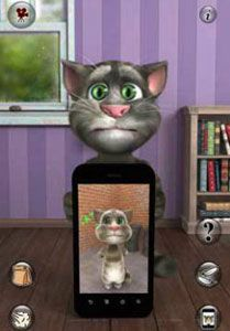 Talking Tom android, java. Tải Talking Tom game vui cười