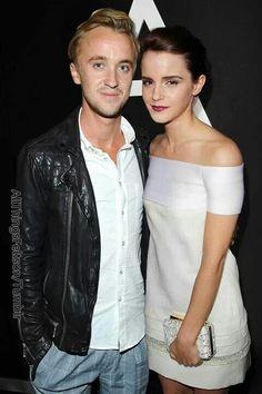 Tom Felton and Emma Watson -  Dramione♥